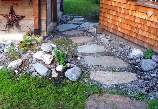 Pas japonais en granit